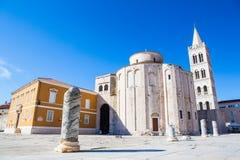 Zadar, Kroatien Stockbild