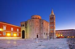 Zadar Kroatien Arkivbilder