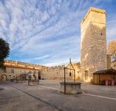 Zadar kroatien stockfoto