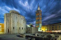 Zadar kroatien lizenzfreie stockbilder