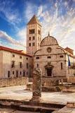 Zadar kroatien stockbild
