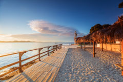 Zadar. La Croatie. Images libres de droits