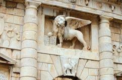 Zadar lion Stock Photography