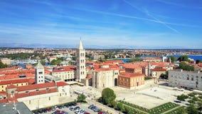 Zadar, litoral, Croácia imagem de stock royalty free