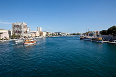 Zadar - Mediterranean landcape Stock Photo