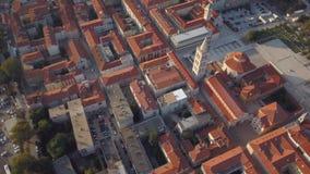 Zadar Old Town stock video