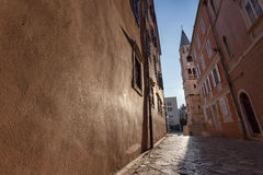 Zadar old town Stock Photography