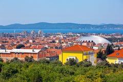 Zadar panorama Stock Photo