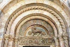 Zadar Roman Catholic Cathedral, Zadar, Croácia imagem de stock royalty free