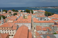 Zadar rooftop Stock Photo