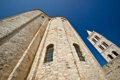 Zadar saint Donat church wide view Royalty Free Stock Photos