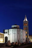 Zadar St Donatus kościół 1 Zdjęcie Stock