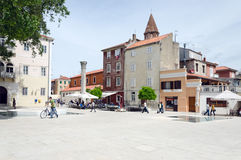 Zadar Tour Royalty Free Stock Photo