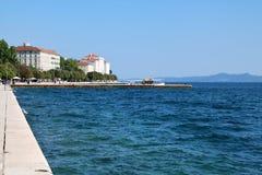Zadar-Ufergegend 2 Lizenzfreie Stockfotos