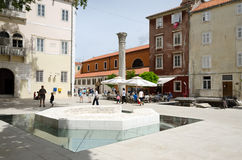 Zadar Walk Royalty Free Stock Images