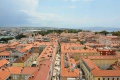 Zadarhoofdstraat Stock Afbeelding