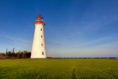 zadbany latarnia morska punkt Fotografia Royalty Free