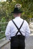 Zadek bavarian mężczyzna obrazy royalty free