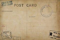 Zadek pusta poczt?wka zdjęcia stock