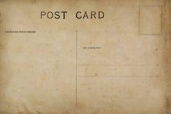 Zadek pusta poczt?wka zdjęcie royalty free