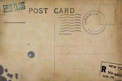 Zadek pusta poczt?wka obraz royalty free