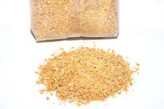 Zaden van lupines voor gebruik in landbouwmeststof worden gesneden voor citrusvruchten die Stock Foto's