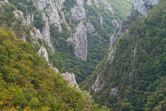 Zadielska tiesnava gorge, Slovak karst Mountains Royalty Free Stock Photos