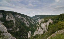 Zadielskavallei, Slowakije Stock Foto's