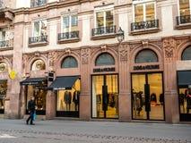 Zadig i Voltaire mody sklep w Francja obrazy royalty free