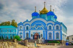 Zadonsk人诞生我们的Convent利佩茨克州夫人oblast俄罗斯 图库摄影