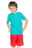 Zadowolona chłopiec zdjęcie stock