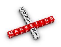Zadowolony Marketingowy Crossword Fotografia Stock