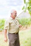 Zadowolony ogrodniczy ekspert Zdjęcia Stock