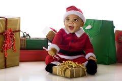 zadowolony Santa Fotografia Royalty Free