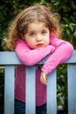 Zadumany dziecko Obraz Stock