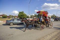 Zadziwiać Lampang prowincję, Tajlandia fotografia stock