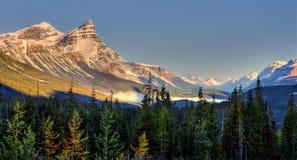 Zadziwiać Alberta krajobraz zdjęcie stock
