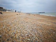 Zadziwiać Brighton nadmorski podczas lata fotografia stock