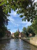 Zadziwiać Bruges Belgia europejczycy zdjęcia royalty free