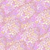 Zadziwiać gałąź lili kwiaty w fiołkowych kolorach Dobry dla wal Fotografia Stock