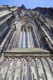 Zadziwiać Kolońską katedrę pod przywróceniem zdjęcia royalty free