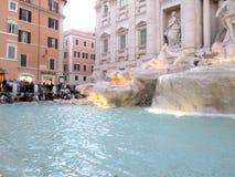Zadziwiać Trevi fontannę Rzym Włochy Europa Zdjęcie Royalty Free