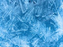 Zadziwiać wzory na lodzie obrazy royalty free
