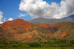 zadziwia Argentina dnia krajobrazu lato Obrazy Stock