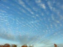 Zadziwia chmury Obrazy Royalty Free