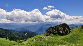 Zadziwiać Kaukaz Fotografia Royalty Free