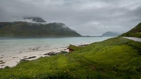 Zadziwiać Lofoten wyspy Fotografia Stock