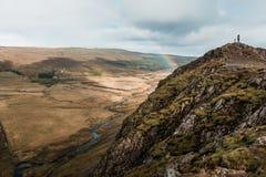 Zadziwiający Północny krajobraz, Iceland Podróż i natura Alpejska faleza fotografia royalty free