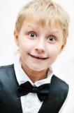 zadziwiająca chłopiec Fotografia Royalty Free