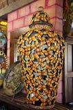 Zadziwiająca Meksykańska Szklana sztuka w Puerto Penasco, Meksyk Zdjęcie Royalty Free